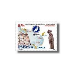 Sellos de España 2003. Camp. del Mundo de Vela Olímpica. (Edifil 4014)**