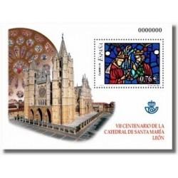 Sellos de España 2003. Vidrieras de la Catedral de León. (Edifil 4020)**