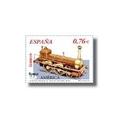 Sellos de España 2003. América UPAEP Transporte Ferroviario. (Edif.4025)**