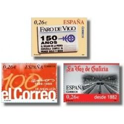 Sellos de España 2003. Diarios Centenarios. (Edifil 4027/29)**