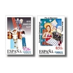 Sellos de España 2003. Navidad. (Edifil 4031/2)**