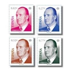 Sellos de España 2004. S.M. D. Juan Carlos I. Serie básica. (Edif.4048-51)*