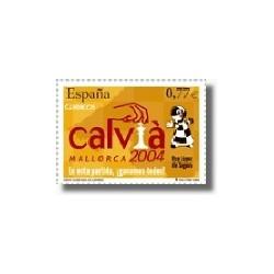 Sellos de España 2004. Olimpiada de Ajedrez - Calvià 2004. (Edif.4070)**