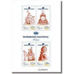 Sellos de España 2004. Patrimonio Nacional - Relojes. (Edif.4071)**