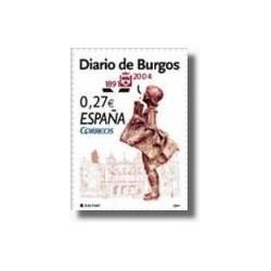Sellos de España 2004. Diario de Burgos. (Edifil 4072)**