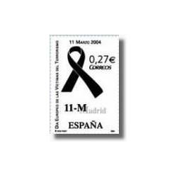 Sellos de España 2004. Día Europeo de las Víctimas del Terrorismo. (Edifil