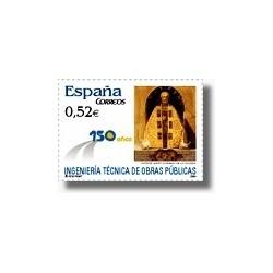 Sellos de España 2004. Ingeniería Técnica de Obras Públicas. (Edif.4077)**