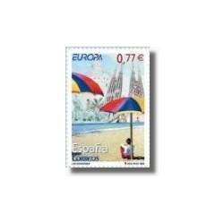Sellos de España 2004. Europa - Vacaciones. (Edif.4079)**