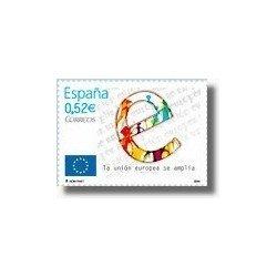 Sellos de España 2004. Ampliación de la Unión Europea. (Edifil 4080)**