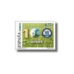Sellos de España 2004. Federación Internacional de Fútbol Asociación. (Edif