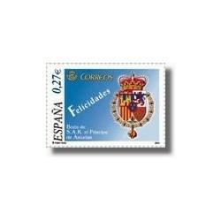 Sellos de España 2004. Boda de S.A.R. El Príncipe de Asturias. (Edifil 4084