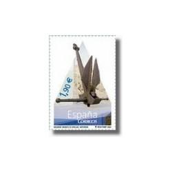 """Sellos de España 2004. Museo de Anclas """"Philippe Cousteau (Edif.4101)**"""