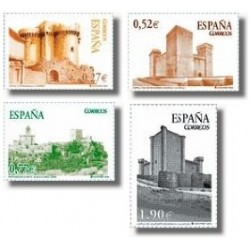 Sellos de España 2004. Castillos (Edifil 4097-100)**