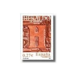 Sellos de España 2004. El Heraldo de Aragón (Edif.4115)**