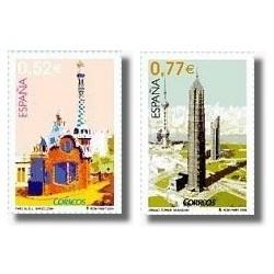Sellos de España 2004. Arquitectura Urbana (Edifil 4118/9)**