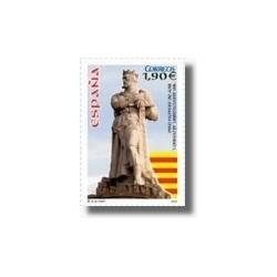 Sellos de España 2004. Alfonso I el Batallador (Edifil 4127)**