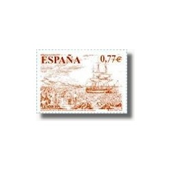 Sellos de España 2004. Expedición de la Vacuna de la Viruela (Edif.4131)**