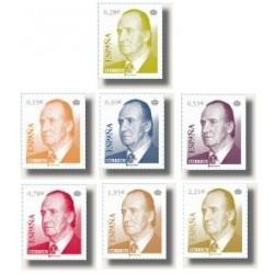 Sellos de España 2005. S.M. D. Juan Carlos I (Edif.4142-48)**