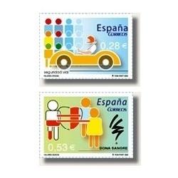 Sellos de España 2005. Valores Cívicos (Edif.4150-51)**