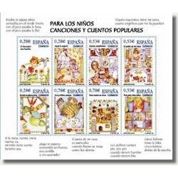 Sellos de España 2005. Para los Niños - Canciones y Cuentos (Edif.4154)**