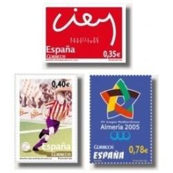 Sellos de España 2005. Deportes (Edif.4156/58)**