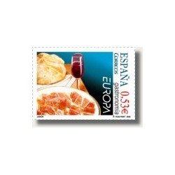 Sellos de España 2005. Europa - Gastronomía (Edif.4159)**