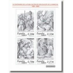Sellos de España 2005. El Quijote de la Mancha, IV Centenario (Edif.4161)*
