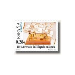 Sellos de España 2005. El telégrafo en España (Edif.4162)**