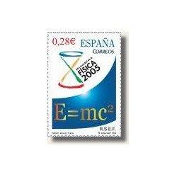 Sellos de España 2005. Año Mundial de la Física (Edif.4163)**