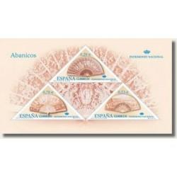 Sellos de España 2005. Patrimonio Nacional - Abanicos (Edif.4164)**