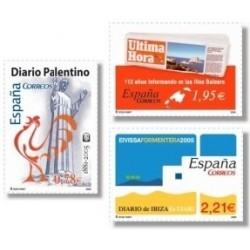 Sellos de España 2005. Diarios Centenarios (Edif.4165/7)**