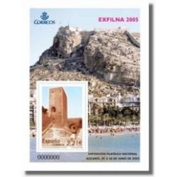Sellos de España 2005. EXFILNA 2005 - Alicante (Edif.4169)**