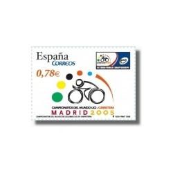 Sellos de España 2005. Campeonatos del Mundo de Ciclismo en Carretera (Edif