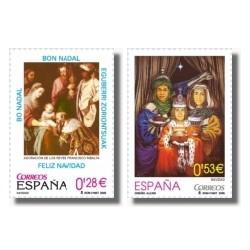 Sellos de España 2005. Navidad (Edif. 4194/95)**