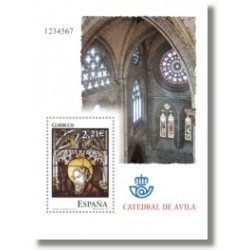 Sellos de Esp.aña 2005. Vidrieras - Catedral de Ávila (Edif. 4196)**