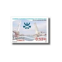 Sellos de España 2005. X Cumbre Euromediterránea (Edif. 4197)**