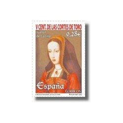 Sellos de España 2005. V Centenario de las Cortes de Toro (Edif. 4198)**