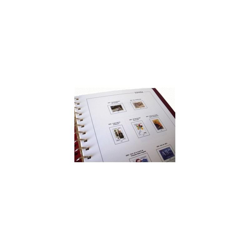 Suplemento Anual Edifil Guinea Ecuatorial 2005 con filoestuches