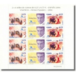 2004 Sellos de España. Exp. Mundial Valencia 2004 - Fiestas Populares (Edif