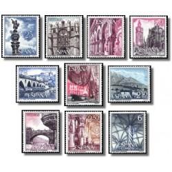 1965 España. Serie Turística. (Edif. 1643/52) **