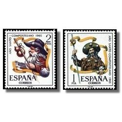 1965 España. Año Santo Compostelano. (Edif. 1672/3) **