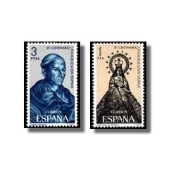 1965 España. Evangelización de Filipinas. (Edif. 1693/94) **