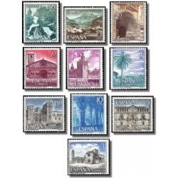 1966 España. Turismo. (Edif.1726/35) **