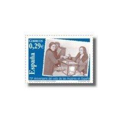 2006 España. 75º Aniv. del Voto Femenino en España (Edif. 4223)**