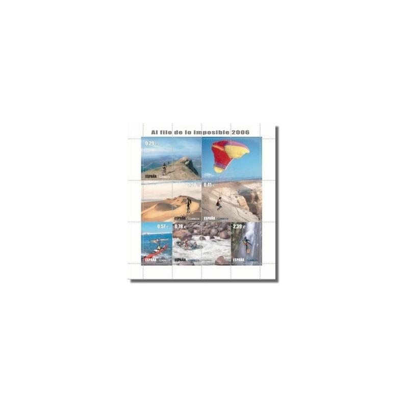 2006 España. Al Filo de lo Imposible (Edif. 4224)**