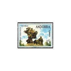 1974 Sellos de Andorra (correo español). Unión Postal Universal (Edif. 93)*