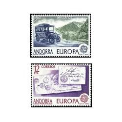 1979 Sellos de Andorra (correo español). Europa (Edif. 125/6)**