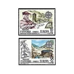 1983 Sellos Andorra Española. Europa (Edif. 168/9)**