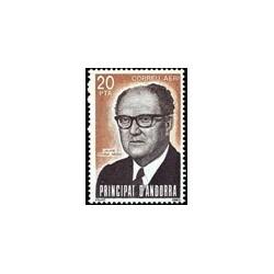 1983 Sellos Andorra Española. Personajes (Edif. 173)**