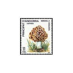 1984 Sellos Andorra Española. Naturaleza (Edif. 181)**